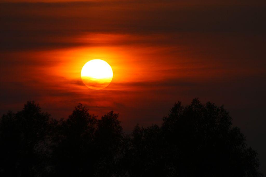 Beautiful Oxfordshire sunset