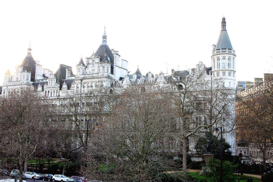 White Buildings in London