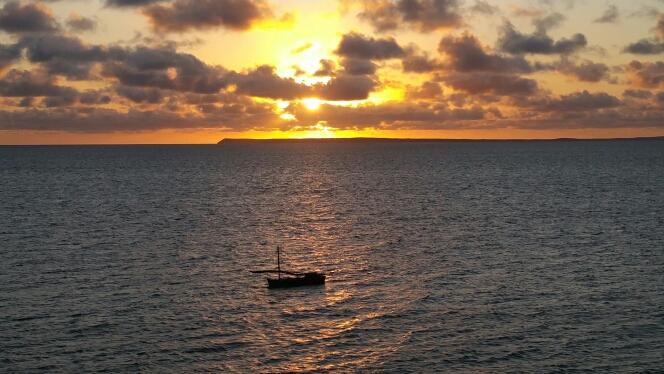 Christmas morning sunrise at Vilanculos