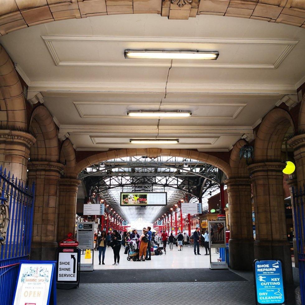 Marylebone Station entrance, London