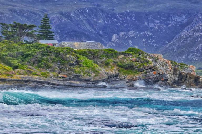 A sea view from Bientang's Cave Restaurant in Hermanus