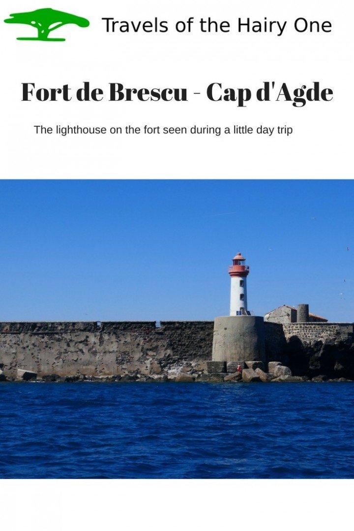 Lighthouse - Fort de Brescu at Capd'Agde in France