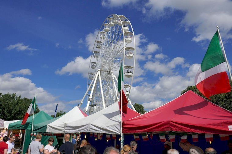 Big Wheel and The Shopping Area