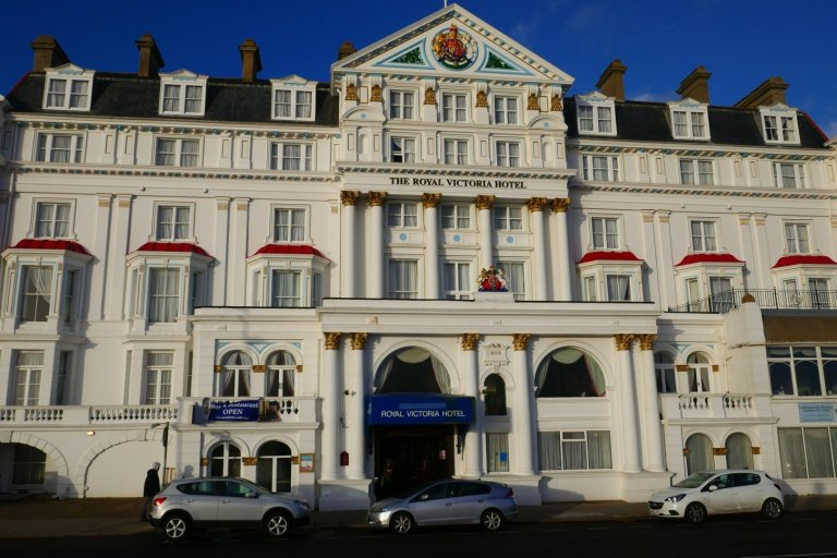 The Royal Victoria Hotel in St Leonards-on-Sea