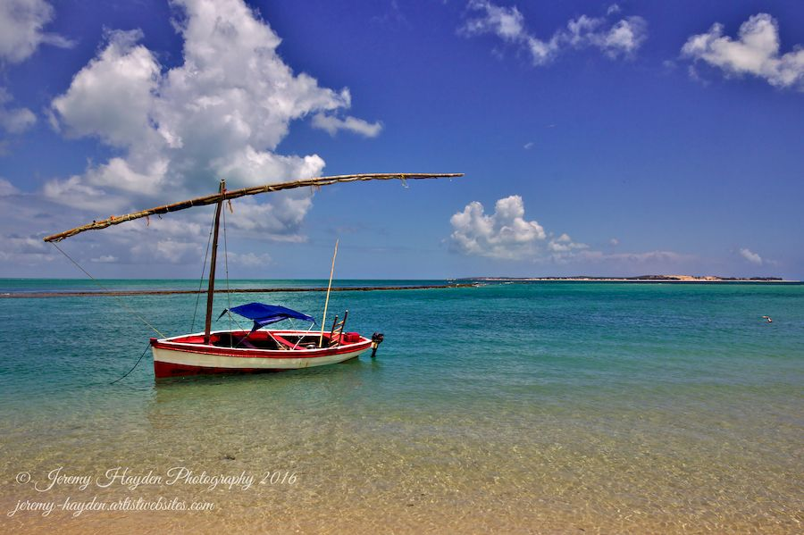 Sailboat at Magaruque Island
