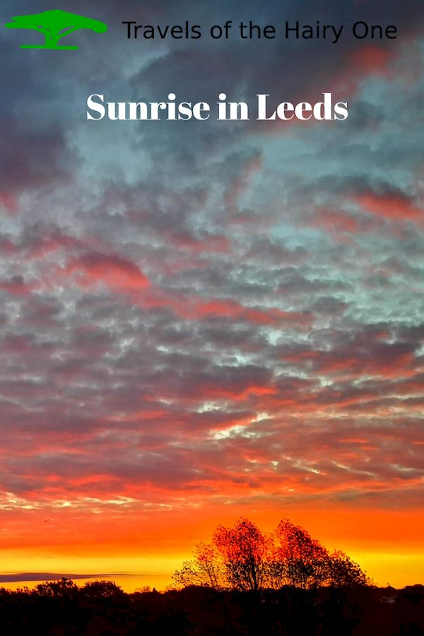 Sunrise in leeds - Please pin this
