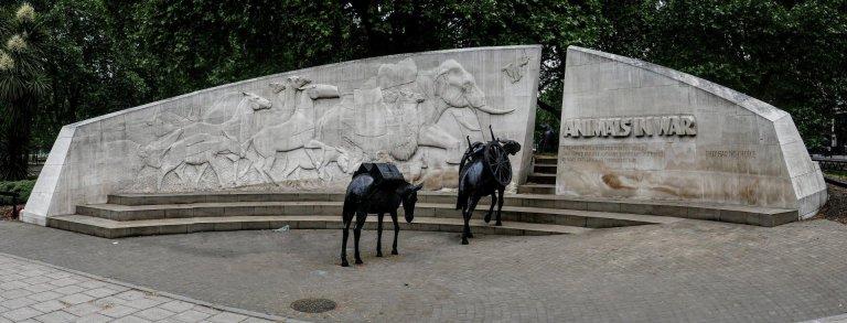 The Animals in War Memorial in London
