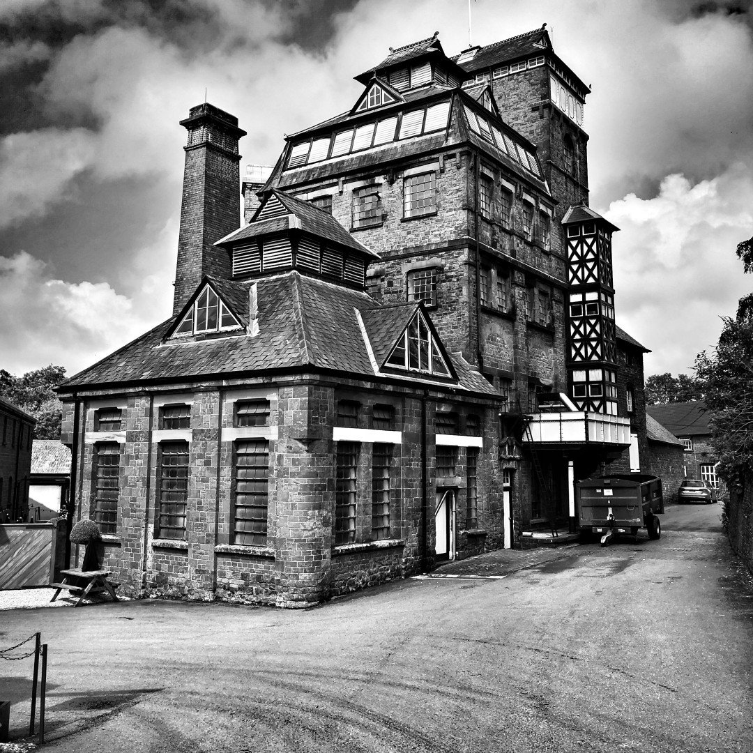 Hook Norton Brewery in Black and White