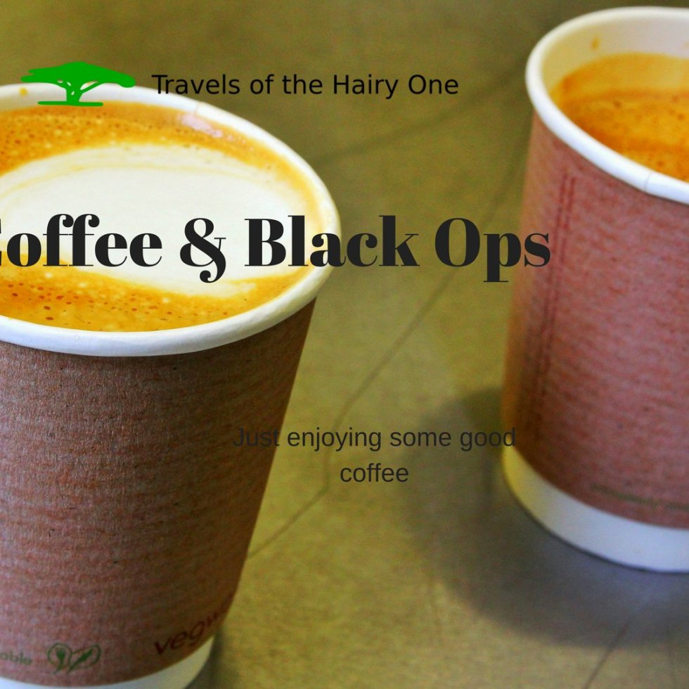 Coffe and black ops - strong coffee on Hary1travels.com