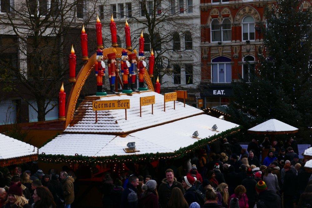 Frankfurt Christmas Market in Birmingham