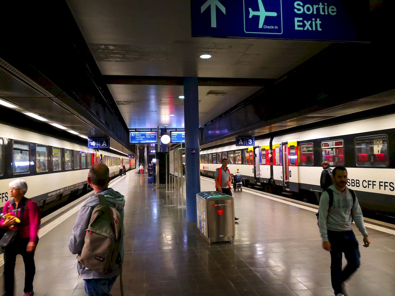 5 Years On - Can You Travel? Geneva Airport Railway Station