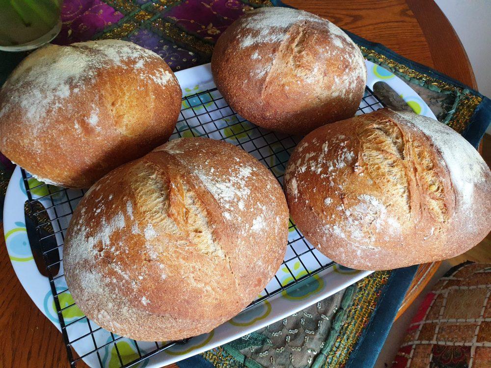 Sourdough Bread - 4 loaf recipe