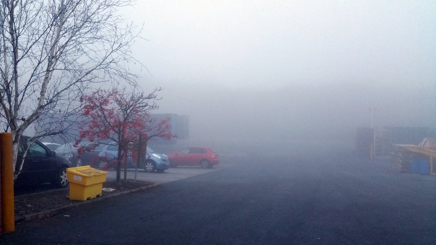 Yorkshire Mist - December 2016 weather in the UK
