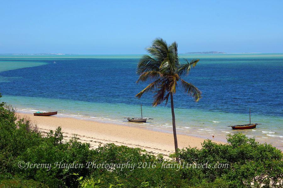 Beach view at Archipelago Resort in Vilankulos, Mozambique
