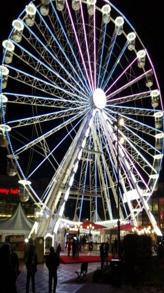 The Big wheel at the 2016 German Christmas Market.