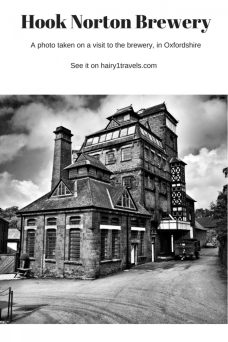 Hook Norton Brewery in Oxfordshire England
