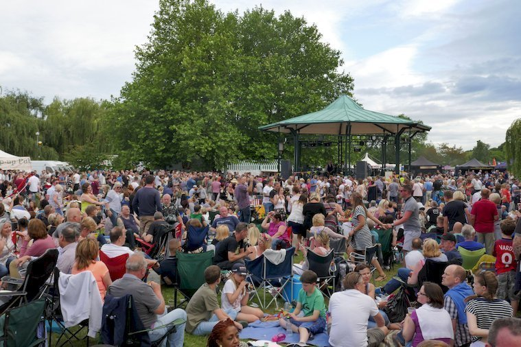 Music at the River Festival