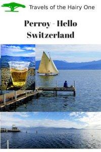Perroy Beach on Lake Geneva - Hello Switzerland