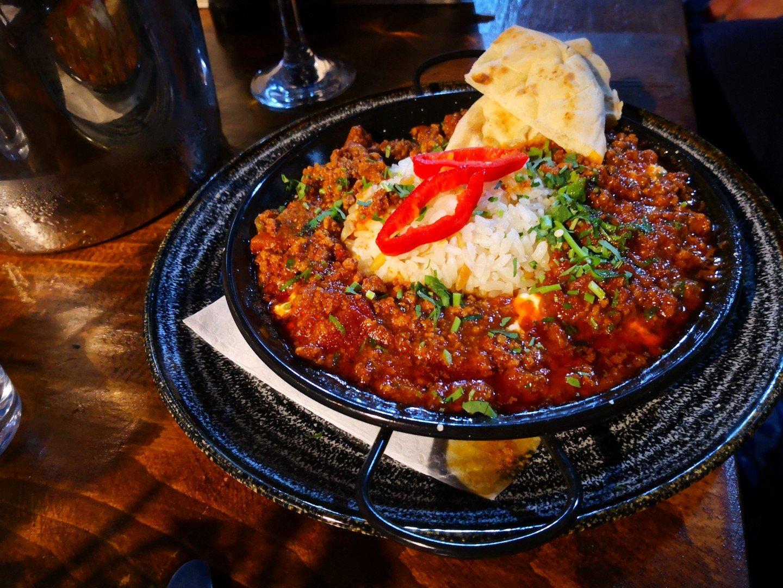 A Turkish Meal at Black Pepper, Buckingham