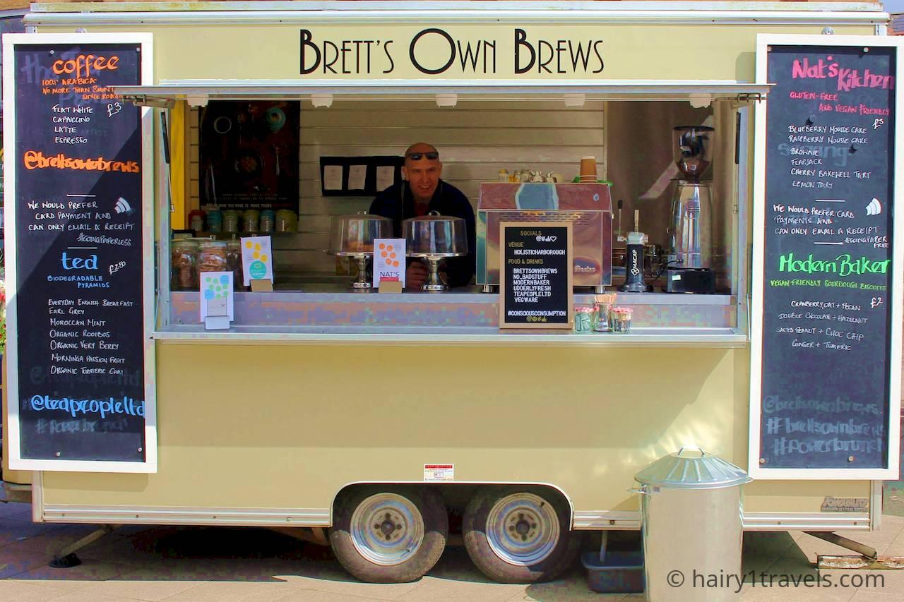 Holistic Harborough wit Brett's own Brews