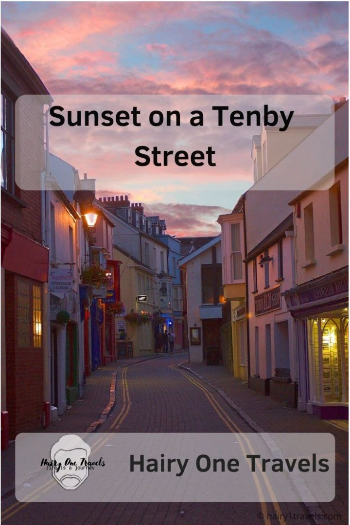 Sunset Tenby Street
