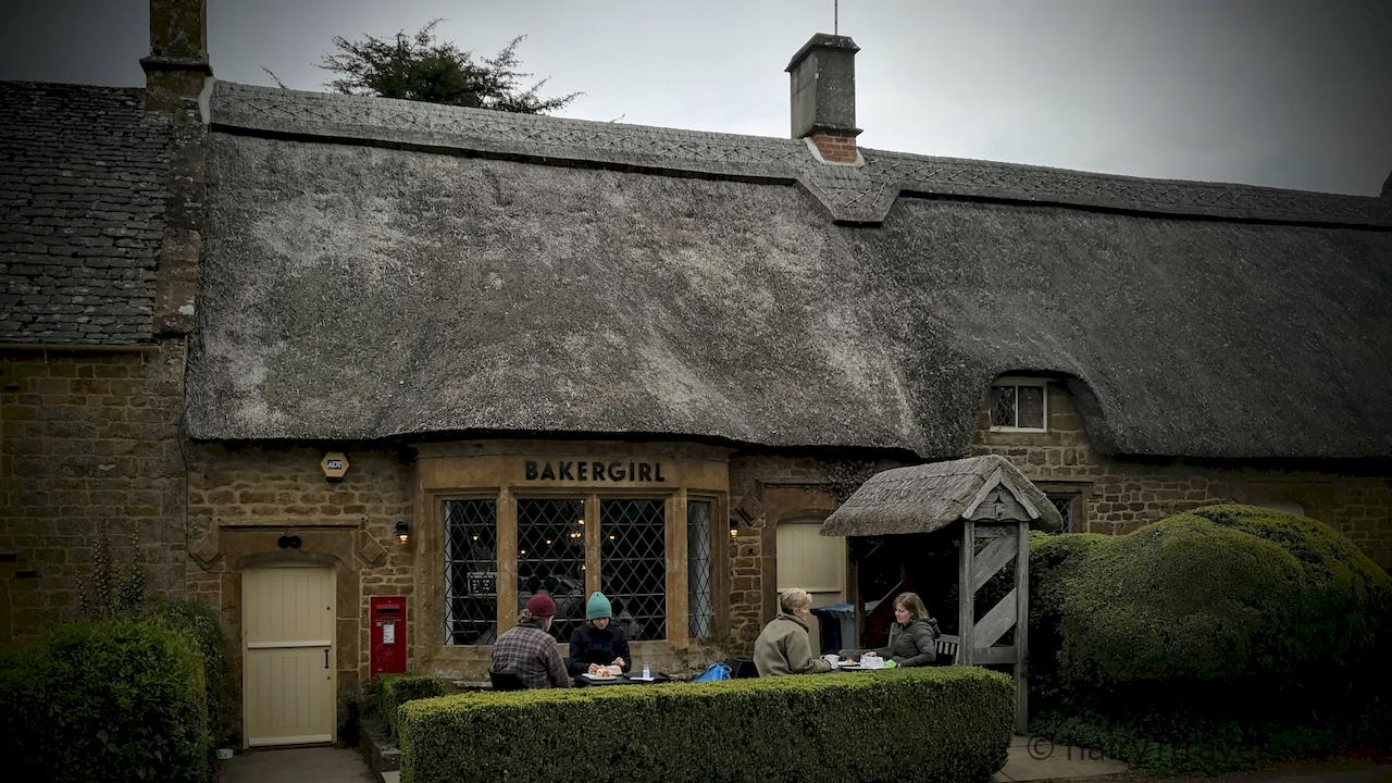 Bakergirl's coffee shop in Great Tew in Oxfordshire.
