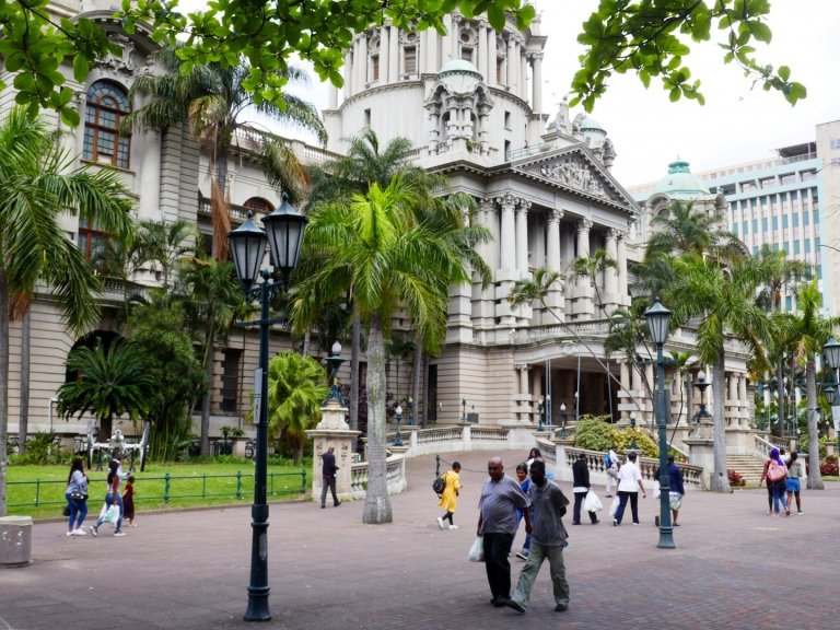 Durban City Hall, more recently known as eThekwini City Hal