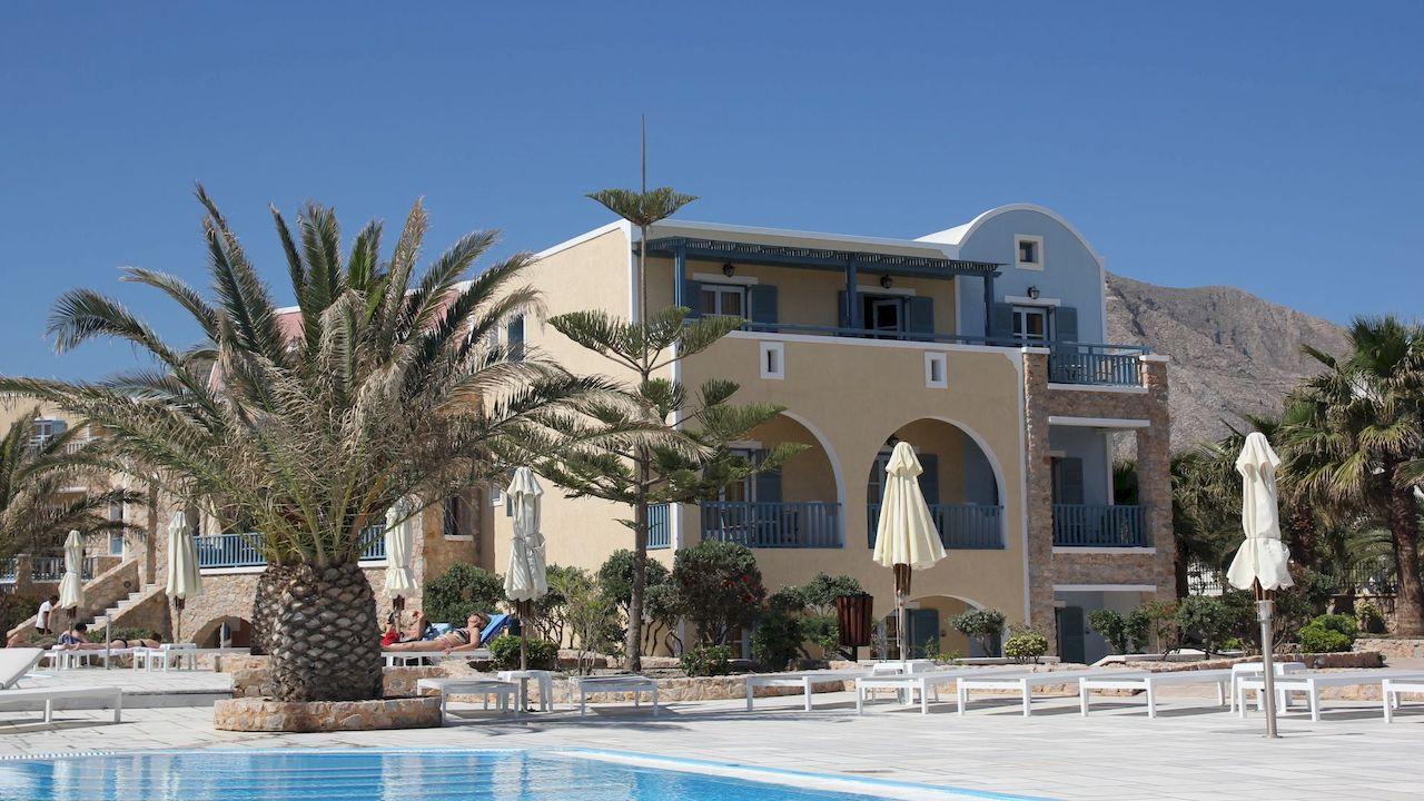 Our Hotel in Perivolos, Santorini