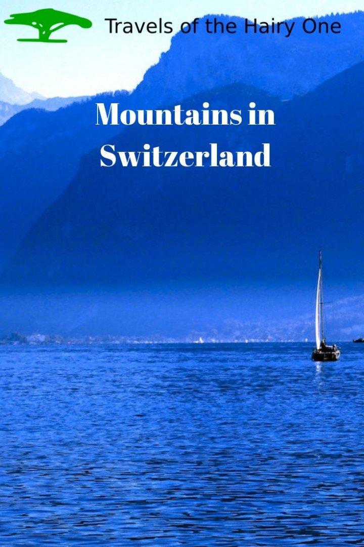 Mountains Across The Lake Pin Image