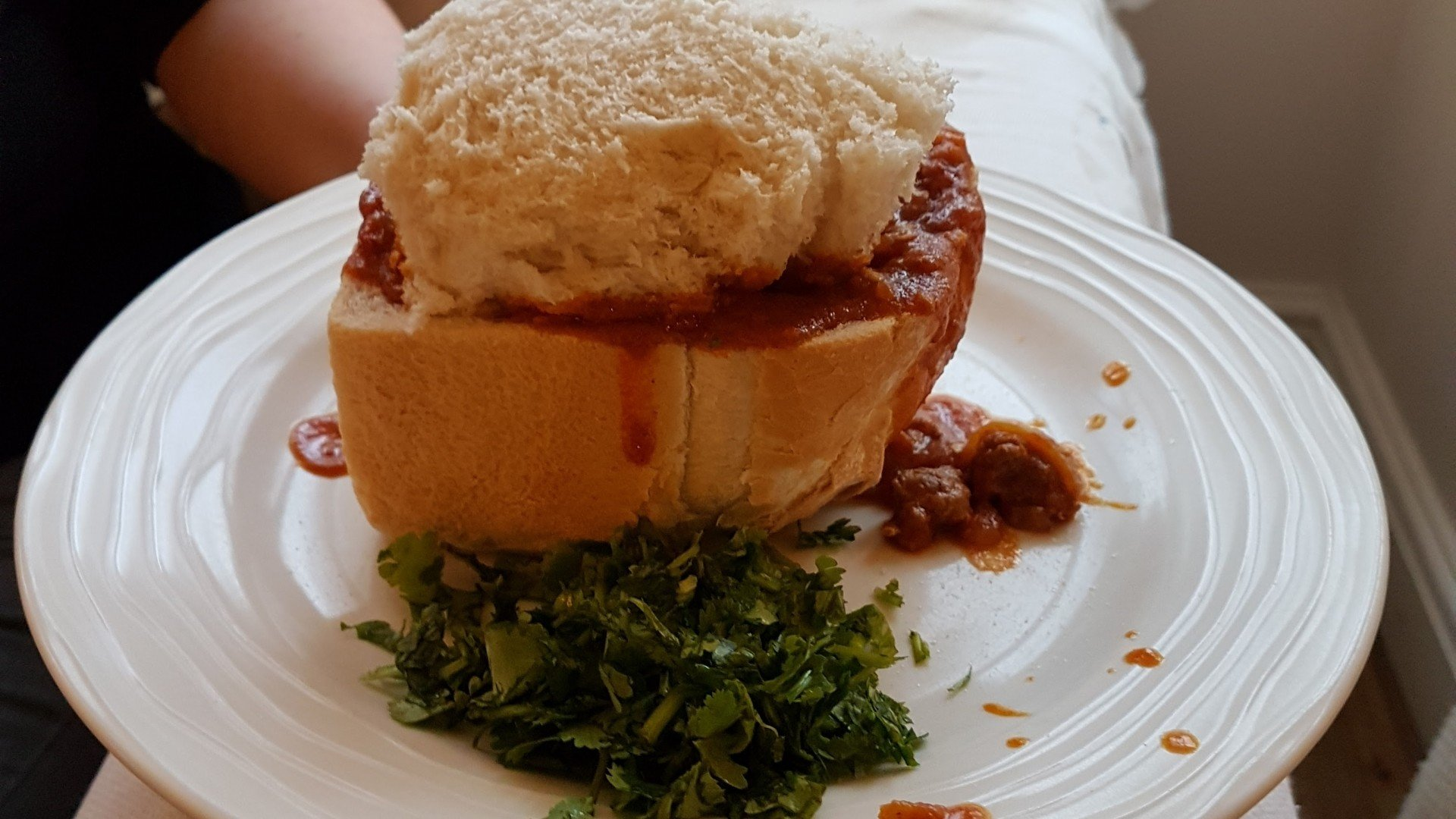 Bunny Chow - Home made in the UK.