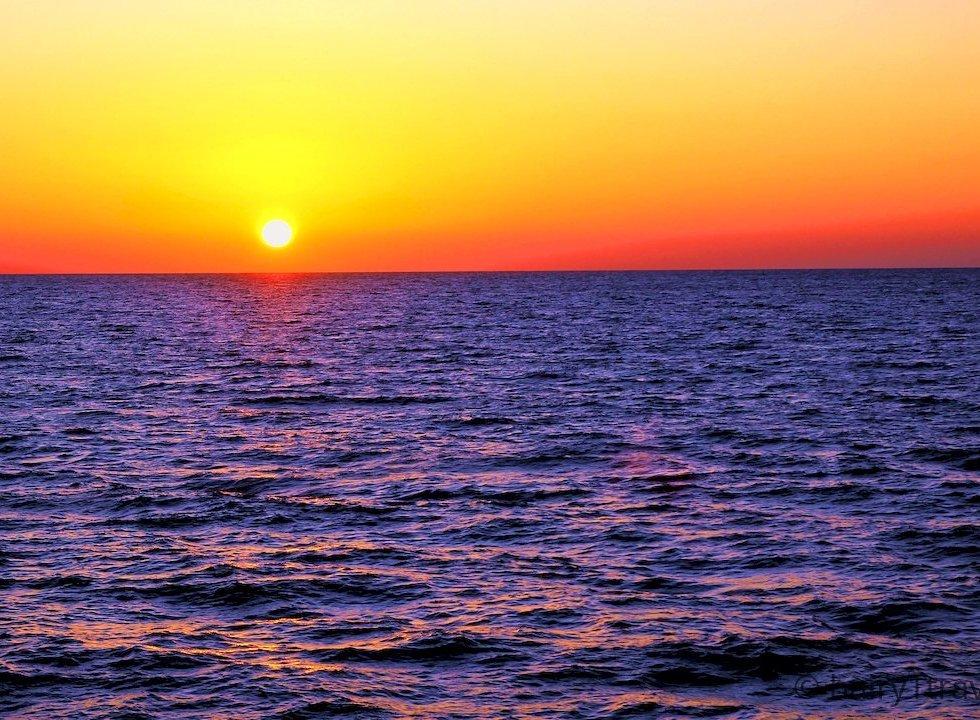 Marathia Sunset - taken off the Marathia Peninsula, Zakynthos Island