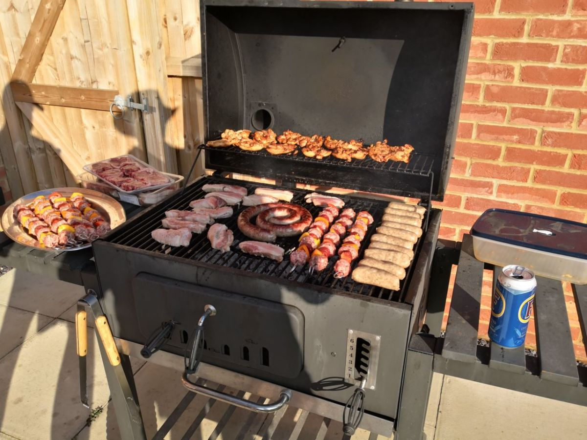 First braai of the year. Maybe it's spring.