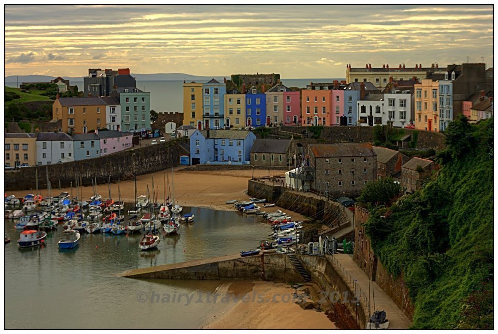 Tenby Harbour in the Morning
