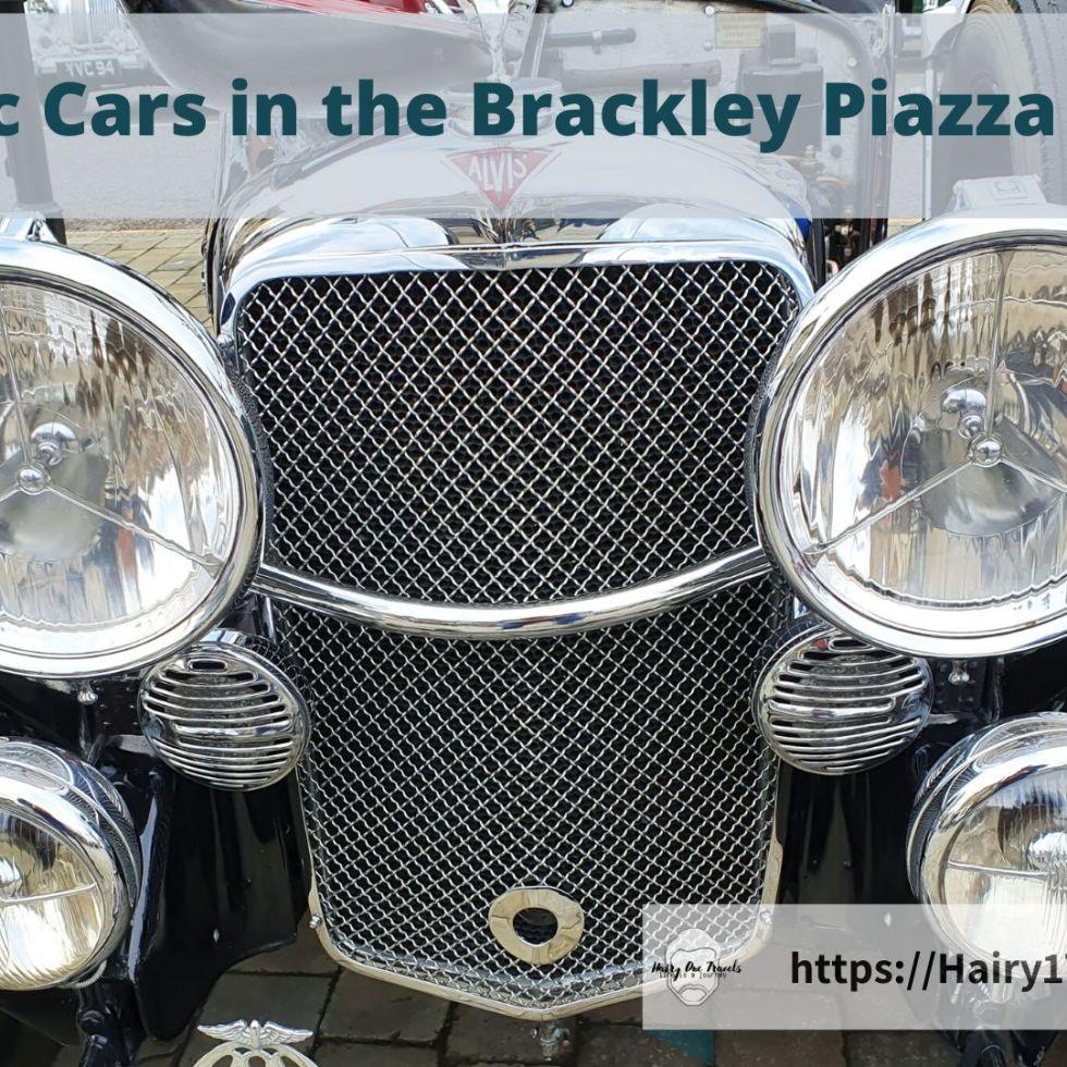 Brackley Classic Cars in the Piazza - 2019