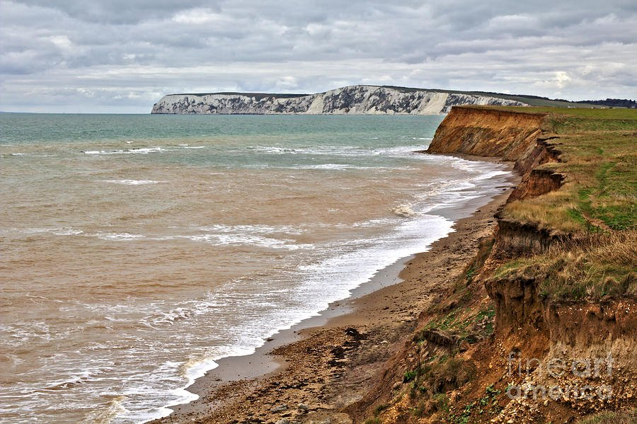 Brook Bay and Chalk Cliffs - Isle of Wight