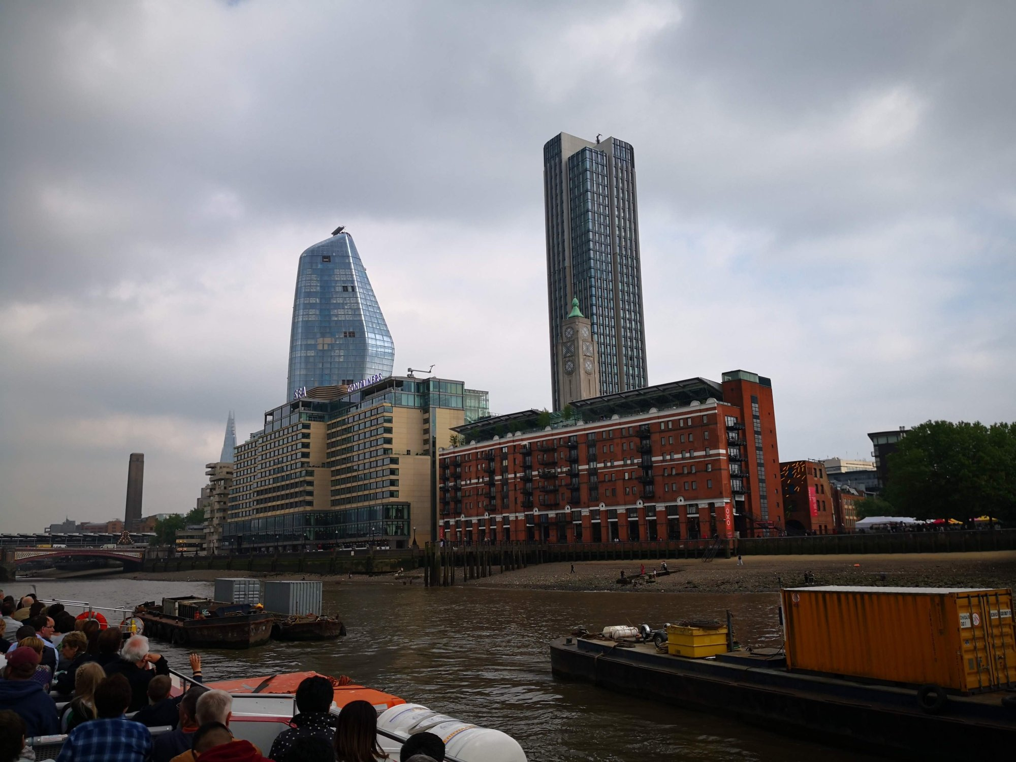 London Skyline from the Thames