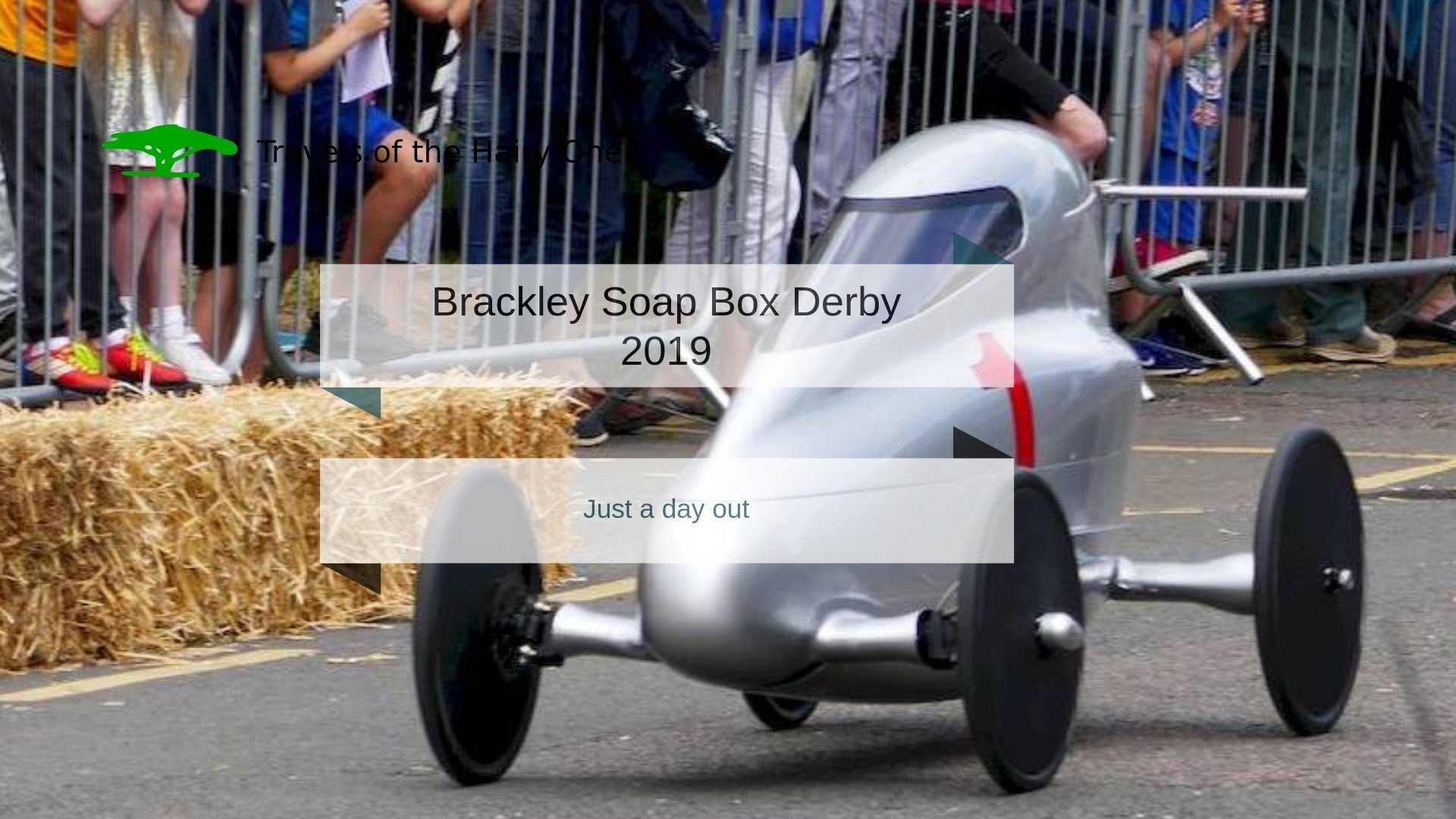 Fun on the High Street at the Brackley Soap Box derby