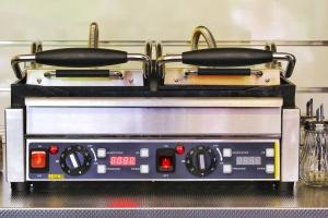 New sandwich toaster.