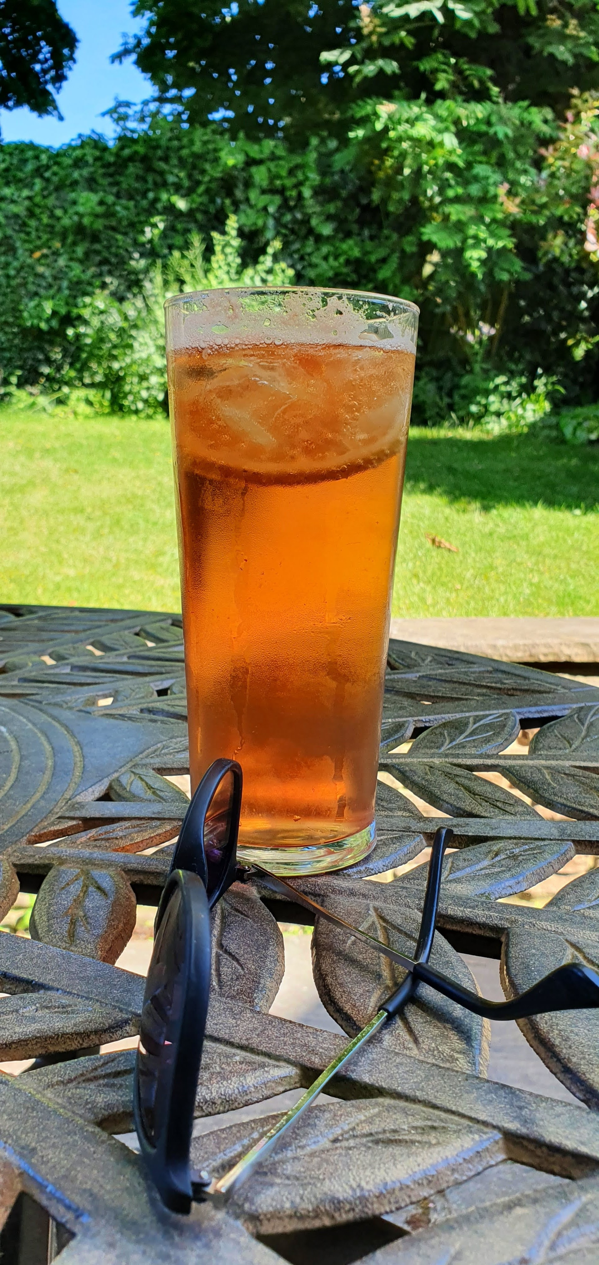 A Rock Shandy - great for a hot summer day