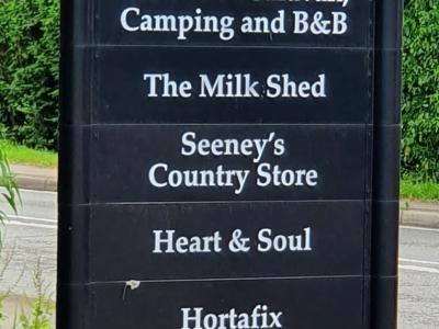 Milk Shed Sign